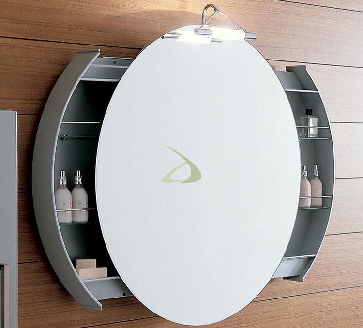 50 specchi per bagno moderni dal design particolare - Specchi rotondi da parete ...