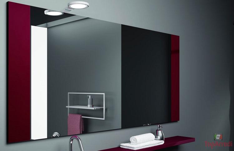 Specchio per bagno dal design moderno n.45