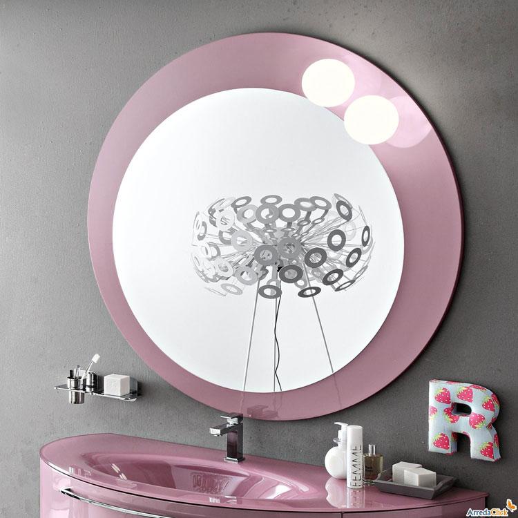 Specchio per bagno dal design moderno n.47