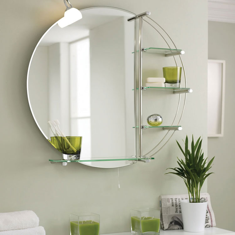 Specchio per bagno dal design moderno n.49