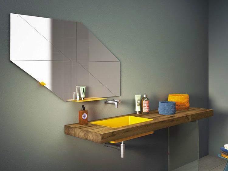 Specchio per bagno dal design moderno n.53