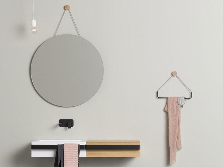 Specchio per bagno dal design moderno n.54