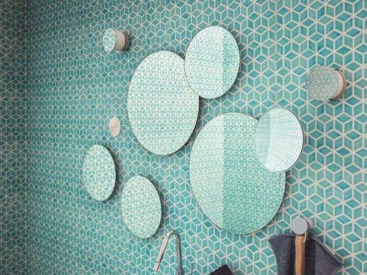 Specchio per bagno dal design moderno n.55