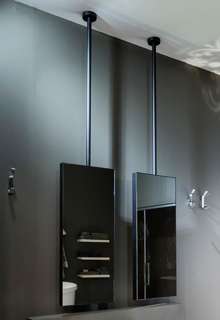 Specchio per bagno dal design moderno n.60
