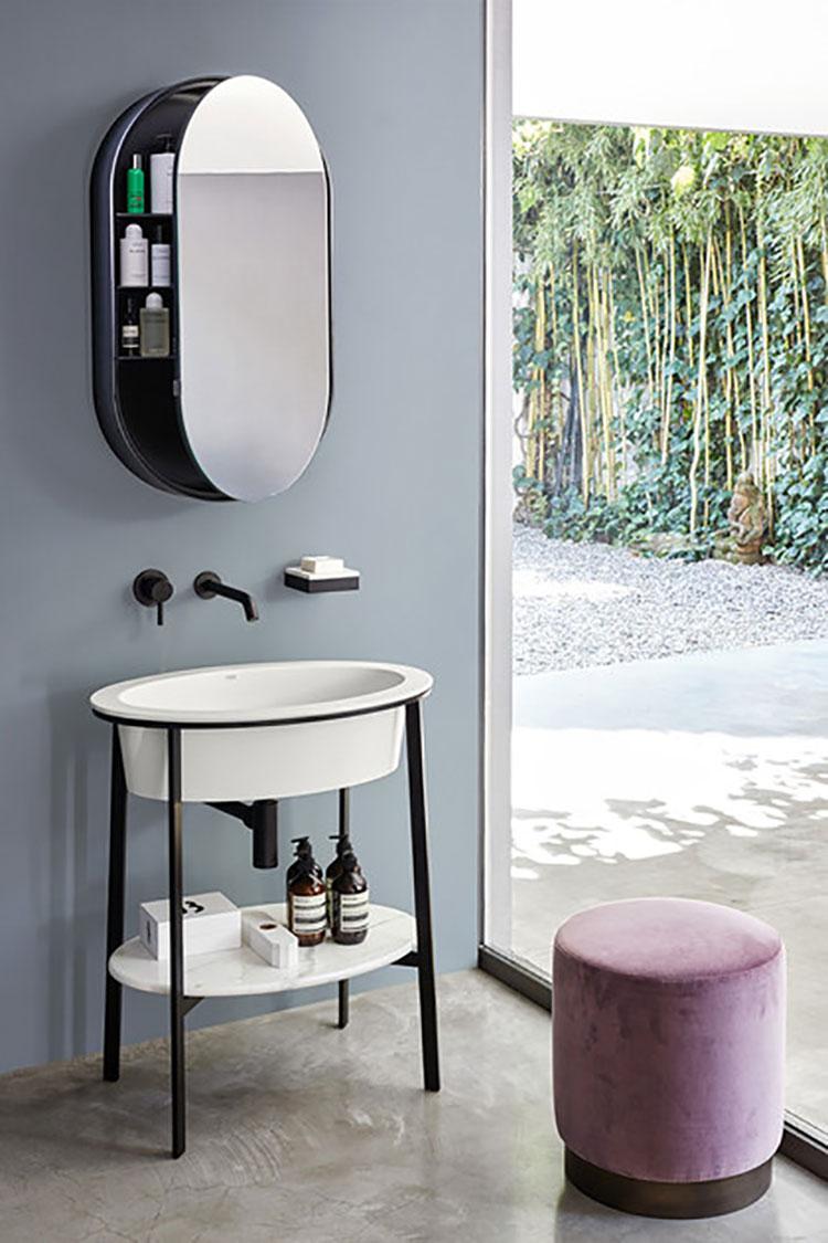 Specchio per bagno dal design moderno n.61