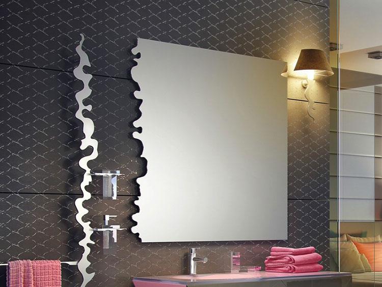 Specchio per bagno dal design moderno n.62