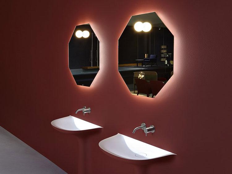 Specchio per bagno dal design moderno n.64
