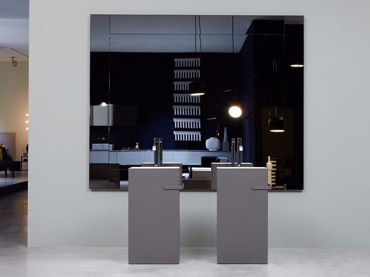 Specchio per bagno dal design moderno n.65