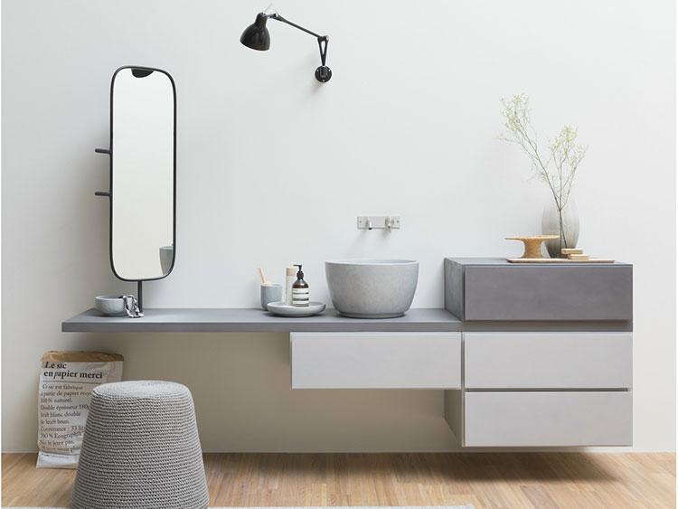 Specchio per bagno dal design moderno n.66
