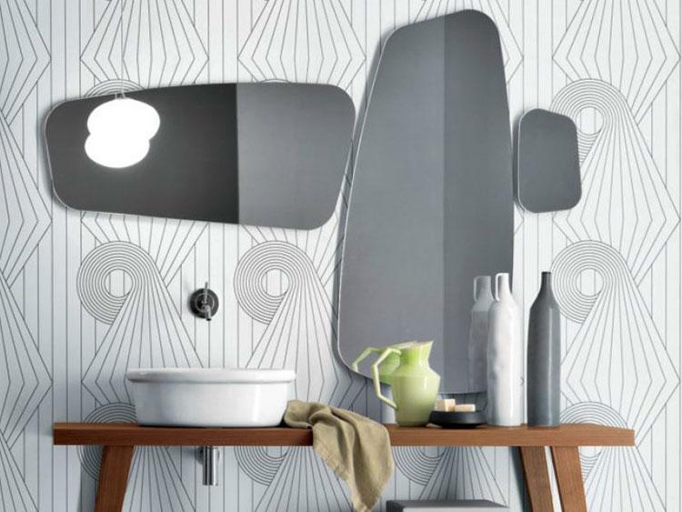 Specchio per bagno dal design moderno n.67