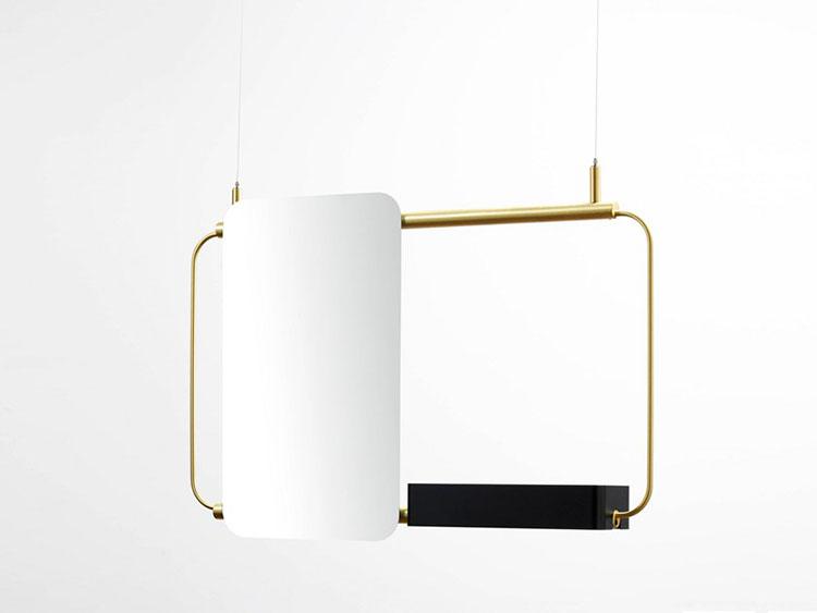 Specchio per bagno dal design moderno n.68