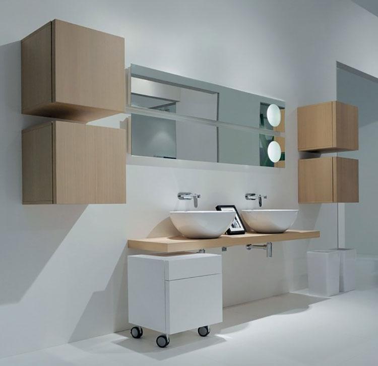 Specchio per bagno dal design moderno n.69