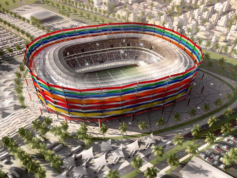 Progetto dello Stadio Al Gharafa per Qatar 2022