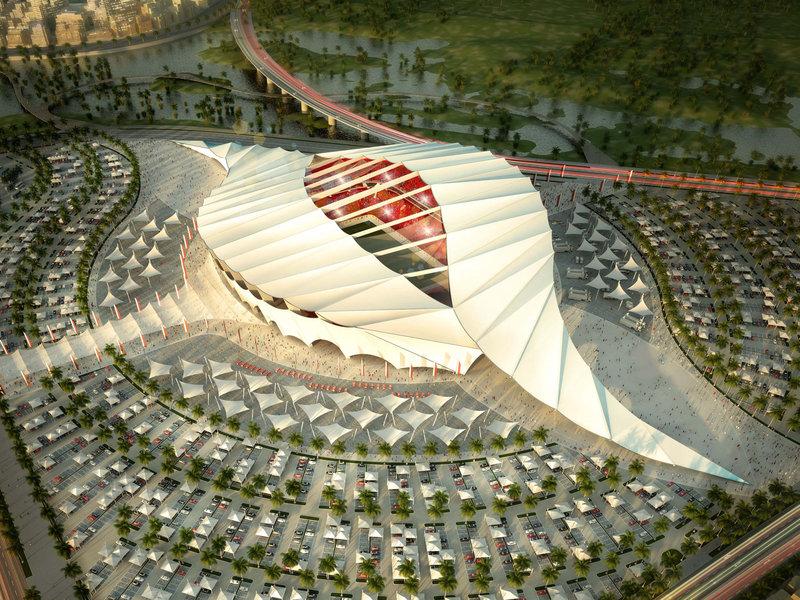 Progetto dello Stadio Al Khor per Qatar 2022