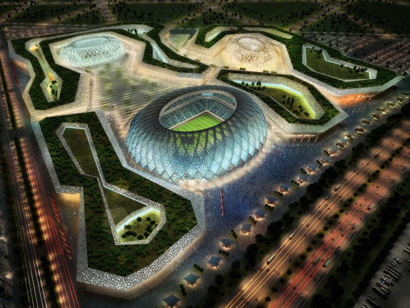 Progetto dello stadio Al Wakrah per Qatar 2022
