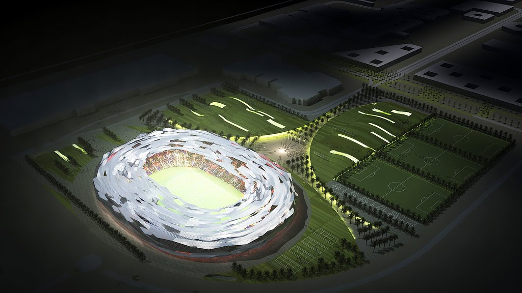 Progetto dello Stadio Education City per Qatar 2022