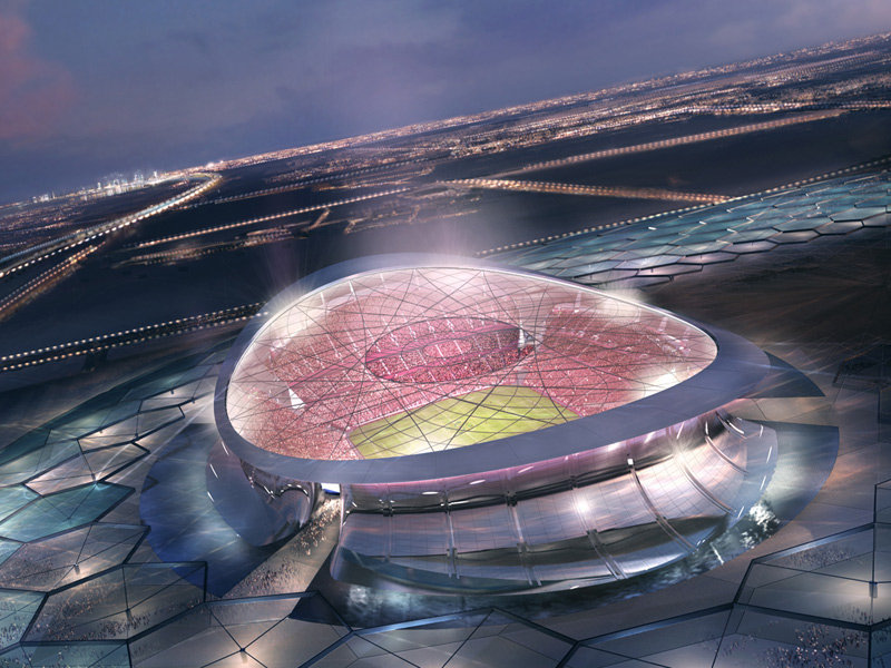 Progetto dello stadio Stadio Lusail Iconic per Qatar 2022