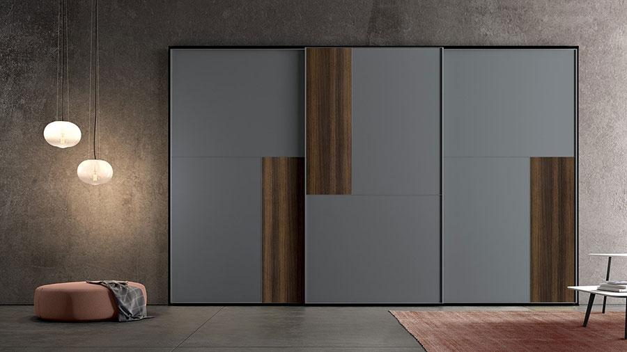 Modello di armadio con ante scorrevoli di Colombini Casa n.03