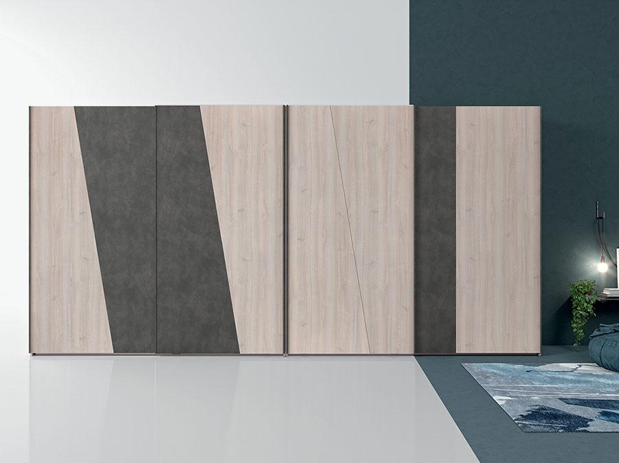 Modello di armadio con ante scorrevoli di Colombini Casa n.05