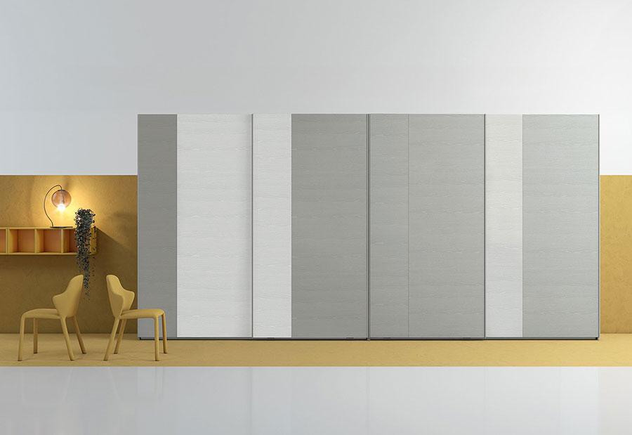 Modello di armadio con ante scorrevoli di Colombini Casa n.06