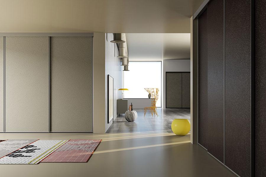 Modello di armadio con ante scorrevoli di De Rosso n.03
