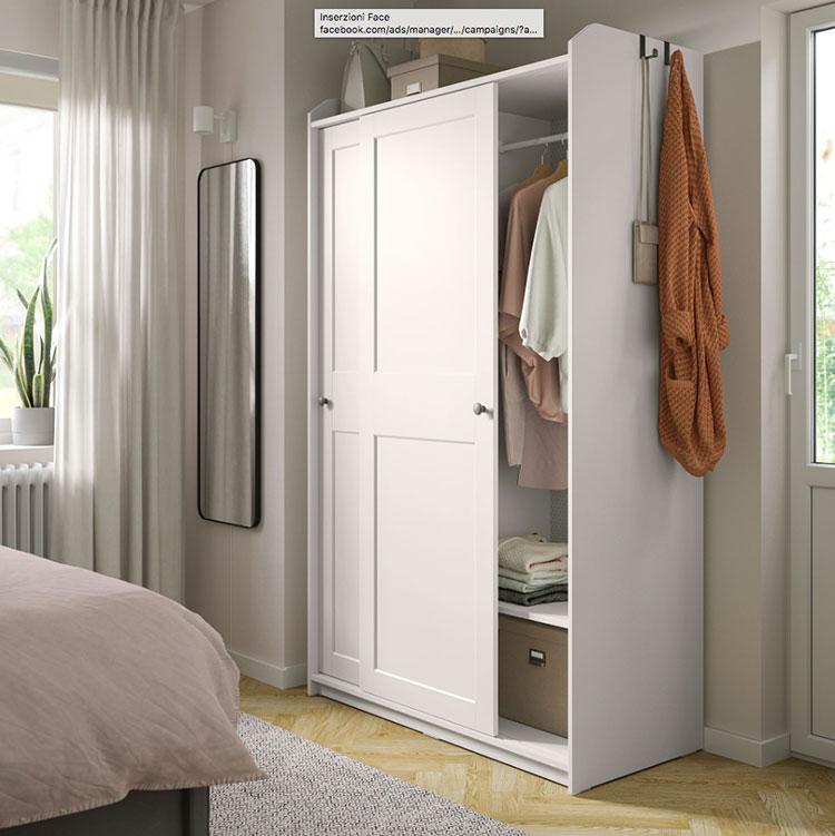 Modello di armadio con ante scorrevoli di Ikea n.04