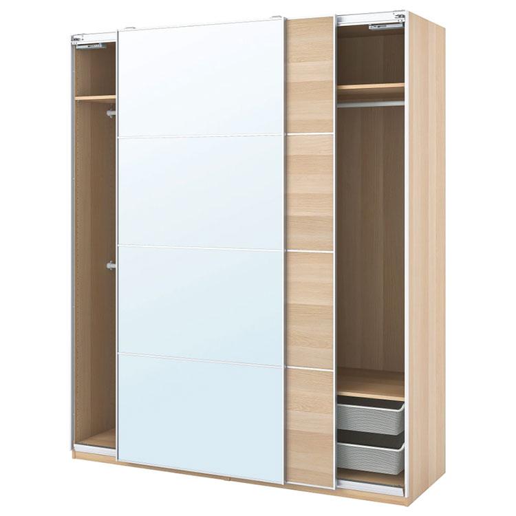 Modello di armadio con ante scorrevoli di Ikea n.06