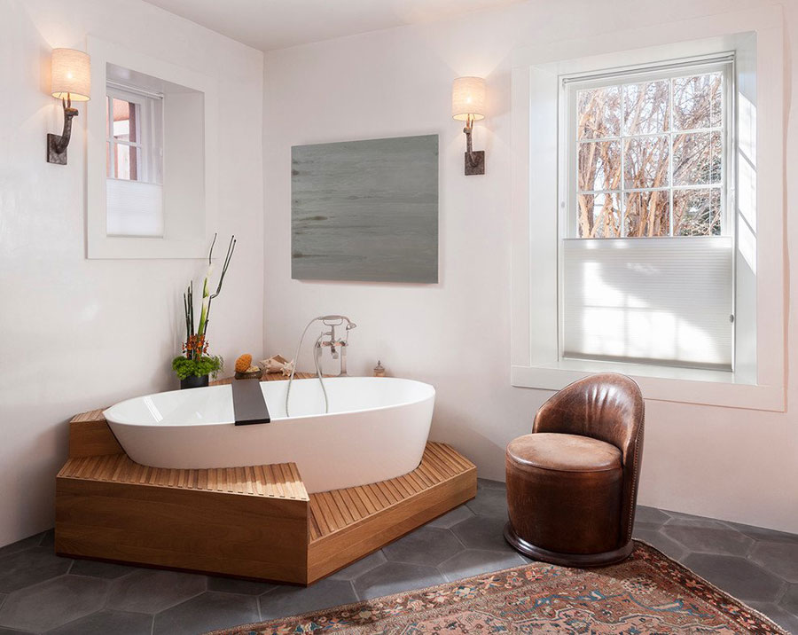 Design Bagno Classico : 15 foto di bellissimi bagni con arredo tra classico e moderno
