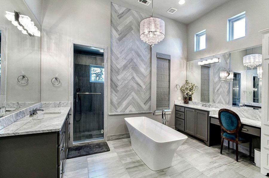 15 foto di bellissimi bagni con arredo tra classico e moderno for Arredo bagno stile antico