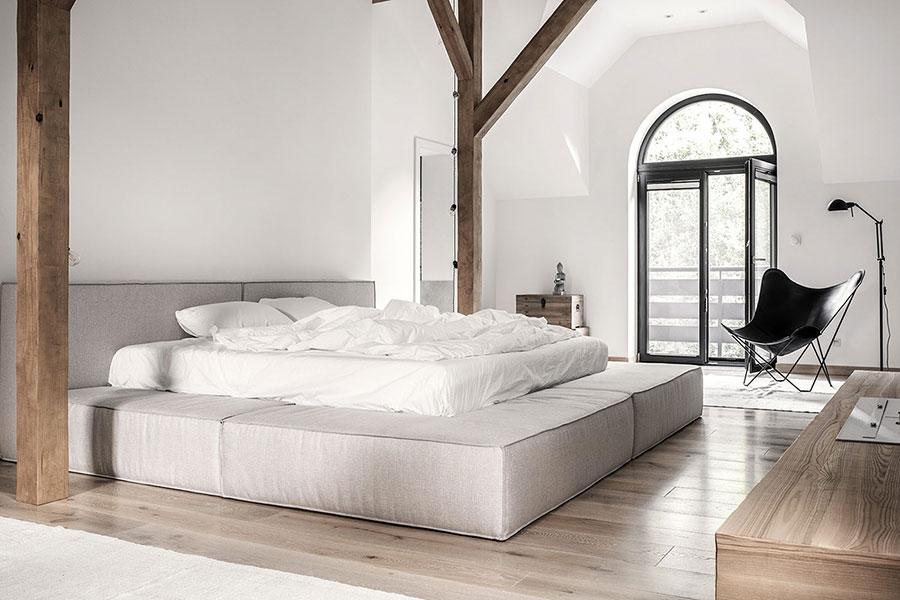 Camera da letto in stile zen orientale n.50