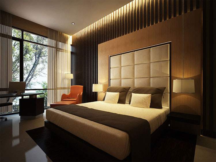 40 stupende camere da letto con design zen asiatico - Camere da letto da sogno foto ...