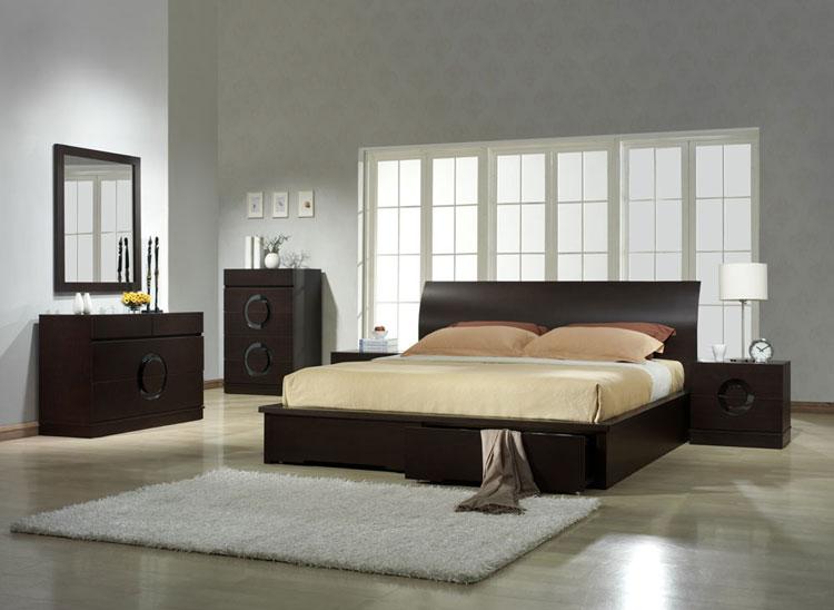 Camera da letto in stile zen orientale n.07