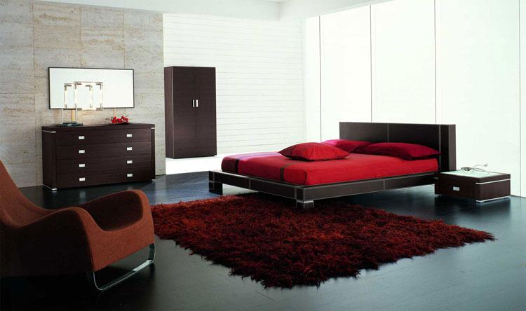 Camera da letto in stile zen orientale n.10