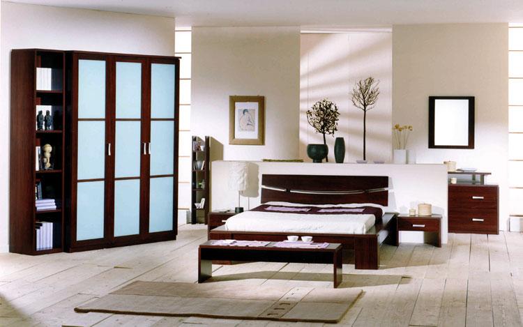 Camera da letto in stile zen orientale n.11