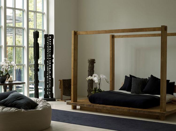 40 stupende camere da letto con design zen asiatico for Camere da letto famose
