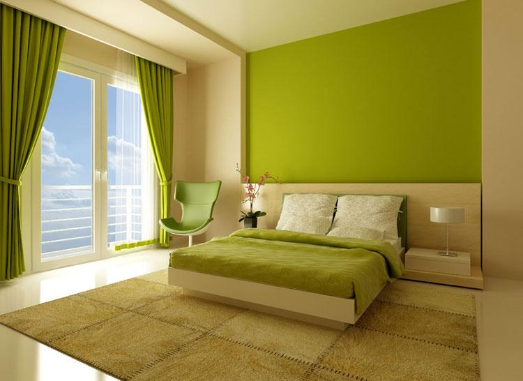Camera da letto in stile zen orientale n.13