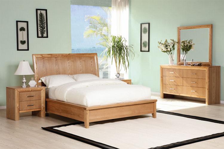 Camera da letto in stile zen orientale n.21