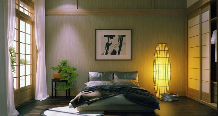 Pianta Camera Da Letto Matrimoniale : 40 stupende camere da letto con design zen asiatico mondodesign.it
