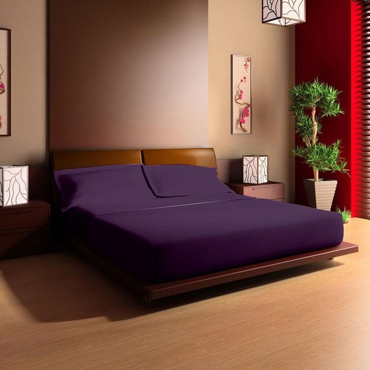 Camera da letto in stile zen orientale n.32