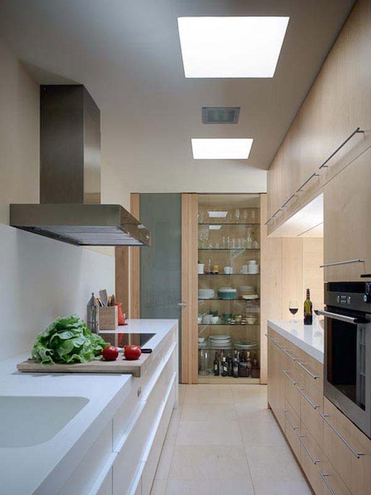30 piccole cucine funzionali e adorabili per idee di for Design interni case piccole