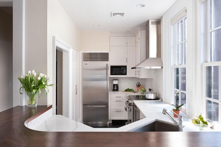 Arredamento cucine piccole: un progetto per meno di 6 mq | Kitchens ...