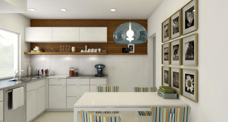 30 piccole cucine funzionali e adorabili per idee di for Arredo interni idee