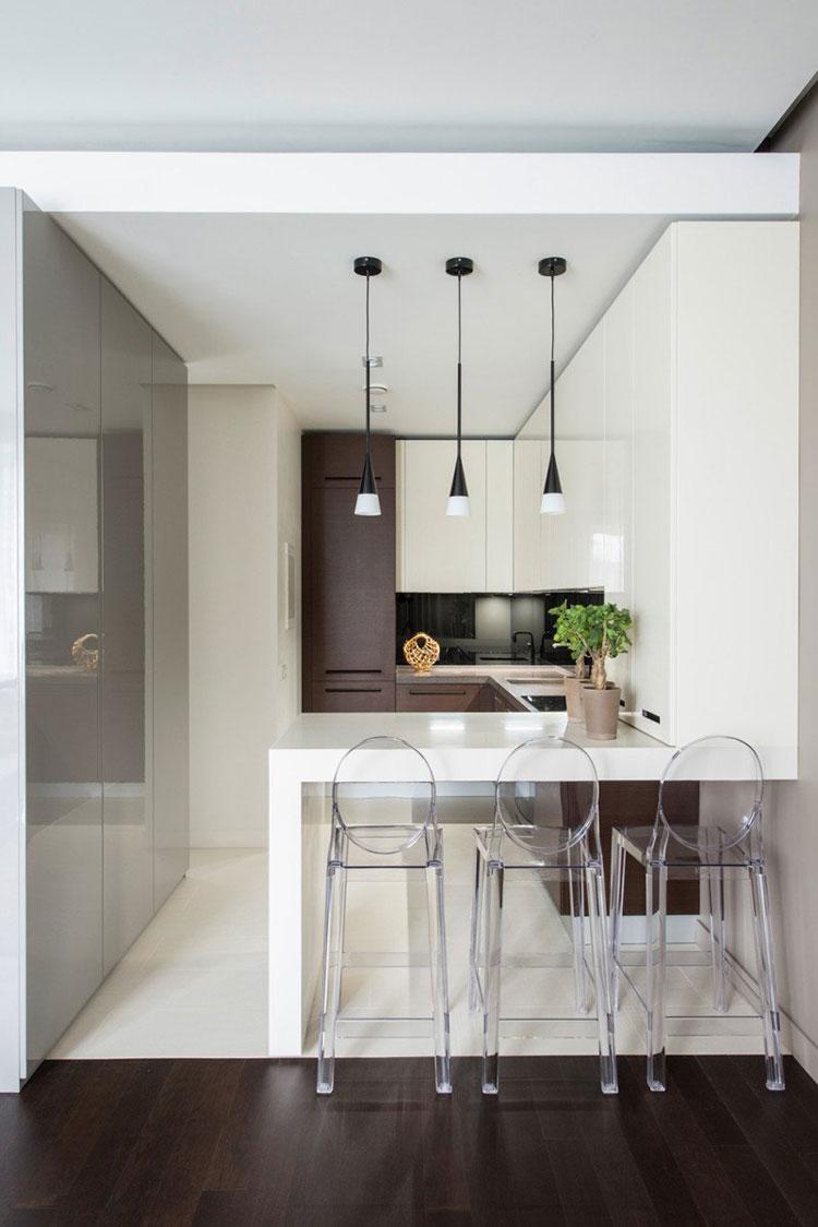 30 piccole cucine funzionali e adorabili per idee di arredo ... - Cucine Compatte Design