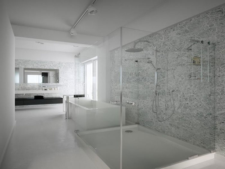 40 foto di bellissime docce moderne - Bagno muratura moderno ...