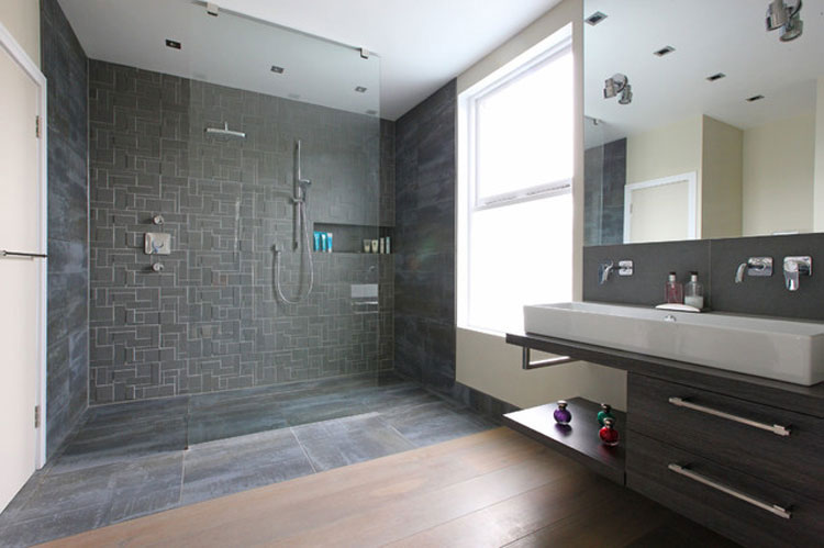 40 foto di bellissime docce moderne for Idee bagno moderno
