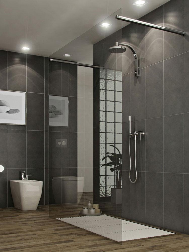 55 modelli di bellissime docce moderne for Foto di sale moderne