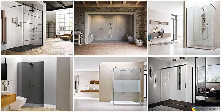 55 modelli di bellissime docce moderne for Interni case americane