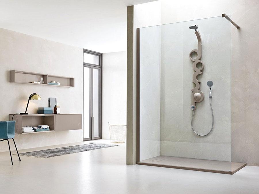Modello di doccia moderna Arblu 1