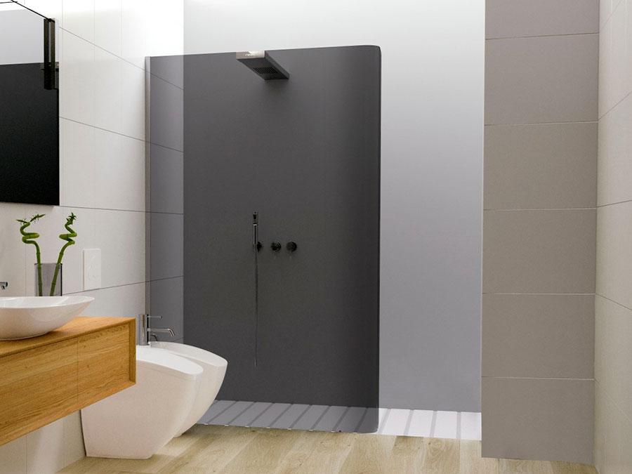 Modello di doccia moderna Relax 1