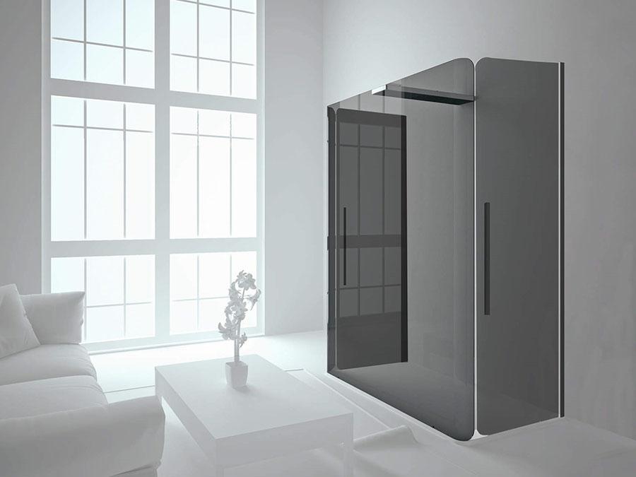 Modello di doccia moderna Relax 2